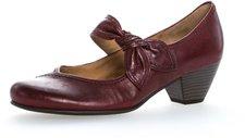 Gabor 05.457 dark red leather