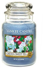 Yankee Candle Duftkerze 9,80x9,80x17,50cm blau (1152860E)