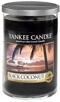 Yankee Candle Kerze im Glas Kokosnuss Schwarz schwarz M (1254016E)