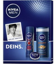 NIVEA FOR MEN Deins. Set (SG 250ml + DS 150ml + C 30ml)