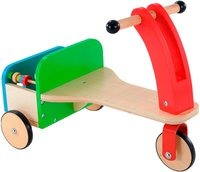 Early Learning Centre Dreirad aus Holz mit Bausteinen