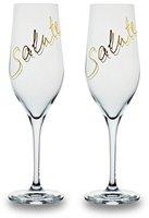 Bohemia Cristal Champagnerglas Salute gold 260ml
