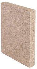 Kamino Flam Vermiculite-Platte eckig 250x124x30 mm