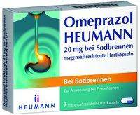 Heumann Pharma Omeprazol 20 mg b. Sodbrennen magensaftres. Hartkapseln