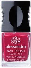 Alessandro Colour Explosion Nail Polish - 153 Elegant Rubin (5ml)