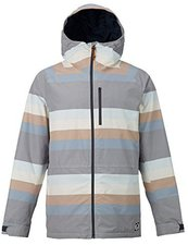 Burton Hilltop Snowboard Jacket Faded Stripe