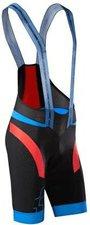 Cube Black ZERO Trägerhose kurz schwarz / blau / rot