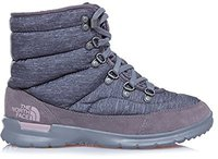 The North Face Thermoball Lace II Women phantom grey heather print/quail grey