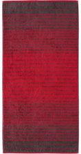 Cawö Shades Saunatuch rot (80x200cm)