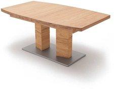 MCA-furniture Cuneo in Bootsform 180x100cm Wildeiche