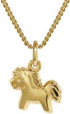 Trendor Goldanhänger Pony (35805)