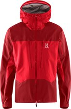 Haglöfs Spitz Jacket Men Real Red / Rubin