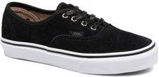 Vans Junior Authentic suede black/tweed dots