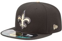 New Era New Orleans Saints Authentic Performance On-Field 59FIFTY black/gold