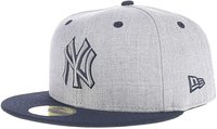 New Era New York Yankees Heather Top 59FIFTY official team colour/heather grey