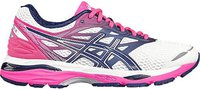 Asics Gel-Cumulus 18 Women white/indigo blue/hot pink