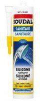 Soudal Sanitär-Silikon weiß 300 ml (01414)