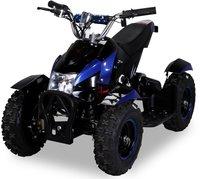Actionbikes Mini Elektro Kinder ATV Cobra 800 Watt Schwarz/Blau