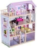 HomCom Barbiehaus 4 Etagen