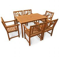 Hartholz Gartenmöbel Set