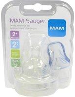 MAM Ultivent Weithalsflaschensauger Tee Gr. 1 (2 Stück)