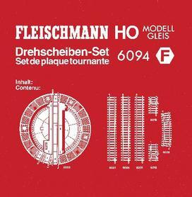 Fleischmann 6094 - Drehscheiben-Set (H0)