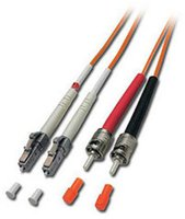 Lindy LWL Kabel Duplex LC/ST 50/125 OM2 10m