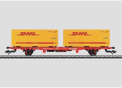 Märklin 47705 - Containertragwg. DHL DB AG (H0)