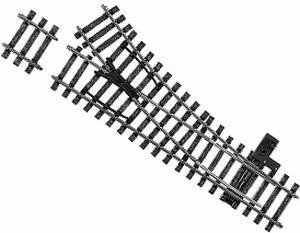 Märklin 5977 - Weiche rechts r1020 mm, 22 Gr (Spur 1)