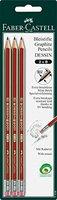 Faber-Castell Bleistifte B 3er