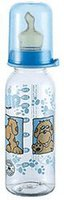 Nip Family Babyflasche 250ml mit Silikonsauger Gr.2
