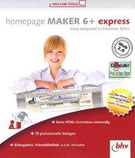 BHV Homepage Maker 6+ Express (Win) (DE)