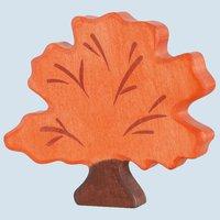 Holztiger Herbstbaum