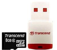 Transcend microSDHC Card Class 2 (8GB)