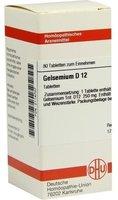 DHU Gelsemium D 12 Tabletten (80 Stk.)