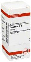 DHU Cinnabaris D 4 Tabletten (80 Stk.)
