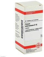 DHU Zincum Valerianicum D 10 Tabletten (80 Stk.)