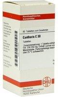 DHU Cantharis C 30 Tabletten (80 Stk.)