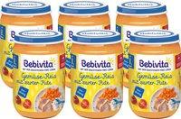 Bebivita Gemüse-Reis mit zarter Pute