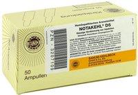 SANUM-Kehlbeck Notakehl D 5 Ampullen (50 x 1 ml)