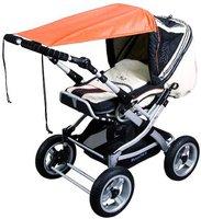 Sunnybaby Sonnensegel für Kinderwagen UPF 50+ terrakotta