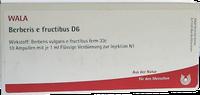 WALA Berberis E Fructibus D 6 Ampullen (10 x 1 ml)