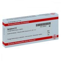 DHU Apocynum D 6 Dilution (10 ml)