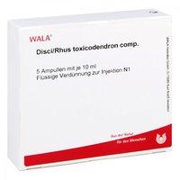 WALA Disci/ Rhus Tox. Comp. Ampullen (5 x 10 ml)