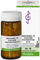 Bombastus Biochemie 18 Calcium Sulfuratum D 12 Tabletten (200 Stk.)