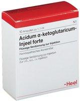 Heel Acidum Alpha Ketoglutaric. Forte Injeele 1,1 ml (10 Stk.)