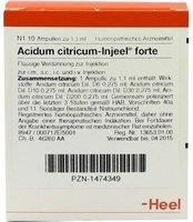 Heel Acidum Citricum Forte Injeele 1,1 ml (10 Stk.)