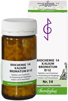 Bombastus Biochemie 14 Kalium Bromatum D 12 Tabletten (200 Stk.)