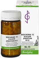 Bombastus Biochemie 15 Kalium Jodatum D 12 Tabletten (200 Stk.)