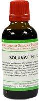 SOLUNA Solunat Nr.12 Tropfen (50 ml)